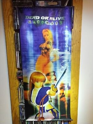 Dead Or Alive Ultimate (Tapestry / Wall Scroll) xbox, team ninja, tecmo