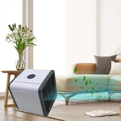 Portable Mini Air Conditioner Cool Cooling For Bedroom Arctic Air Cooler Fan KU
