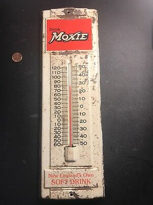 Moxie Soda Thermometer New England's Soft Drink Vintage