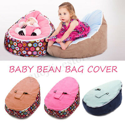 Baby Bean Bag Bed Infant Toddler Chair Seat Bouncer Beanbag Without Filling