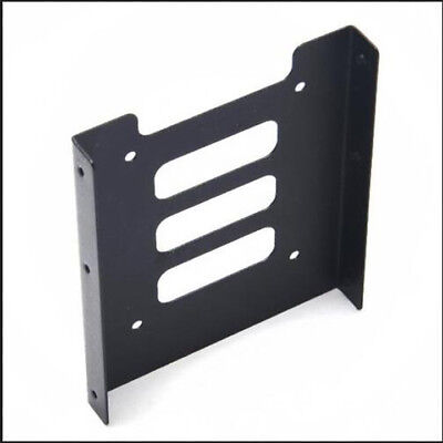 """2.5"""" SSD HDD To 3.5"""" Mounting Adapter Bracket Dock F PC SSD Holder ATX Case"""