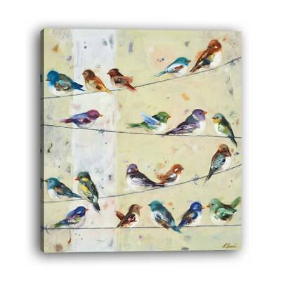 Mural modern style abstract bird hotel living room painting inkjet printing 1PCS
