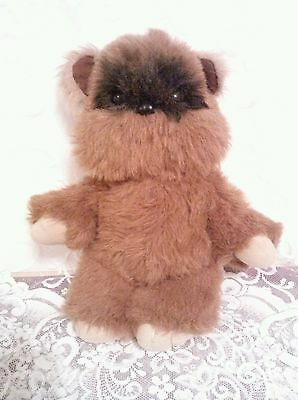 "Vintage Wicket the Ewok 1983 Return of the Jedai Kenner Plush 15 1/2"" tall GUC"