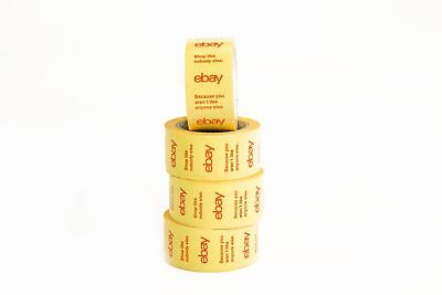 Official eBay Branded BOPP Packaging Tape Shipping Supplies 75 yards Heavy duty