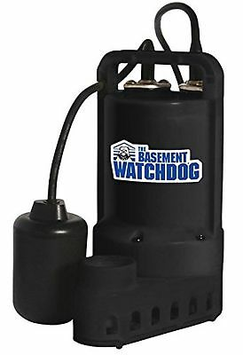 Basement Watchdog Sp-33t Submersible Sump Pump, 3700 Gph