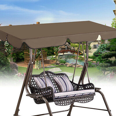 Waterproof Swing Chair Top Cover Outdoor Canopy Replacement Courtyard