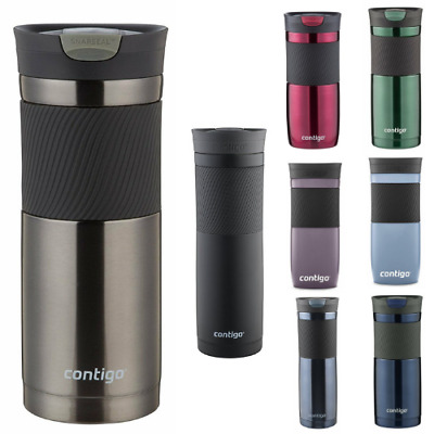 Contigo SnapSeal Byron Vacuum-Insulated Stainless Steel Travel coffee Mug new