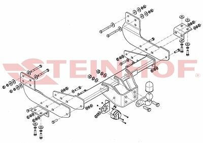 TOW BAR for FORD TRANSIT VAN 2014 to present HEAVY DUTY FREE SHIPPING