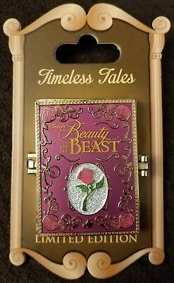 Disney Parks Beauty and the Beast Belle TIMELESS TALES Double Hinged Pin LE NOC