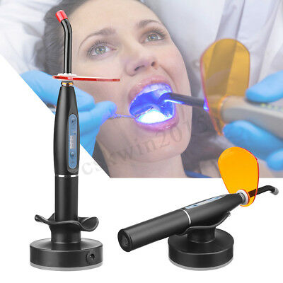 Dental 5W Wireless Cordless LED Curing Light Cure Lamp 7mm 2000mw Teeth Caring