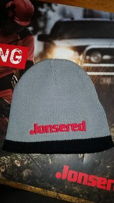 jonsered chainsaw gray beanie hat / new from dealer