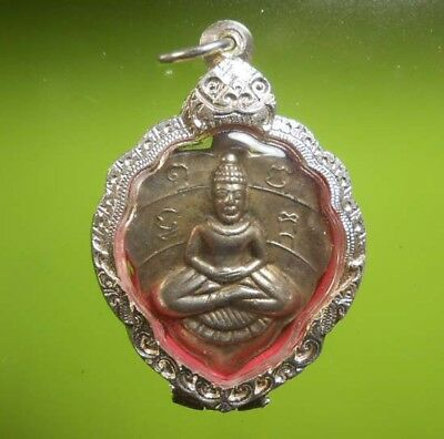 Real! Lp Lee Old Thai Buddha Amulet Pendant Very Rare!!!
