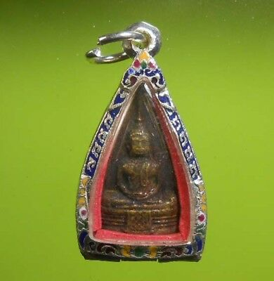 Beautiful Thai Buddha Amulet Lp Sothorn Very Real Rare !!!
