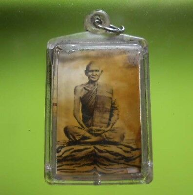 Real Lp Derm Old Thai Buddha Amulet Very Rare !!!