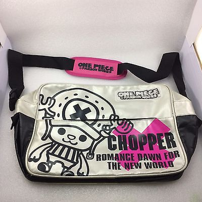 Japanese Anime One Piece Chopper Panson Works Silver  Cross Body Shoulder Bag