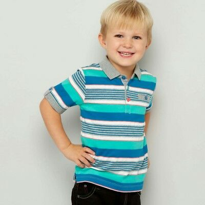 BNWT Baker By Ted Baker Boys Striped Shirt age 5-6 years