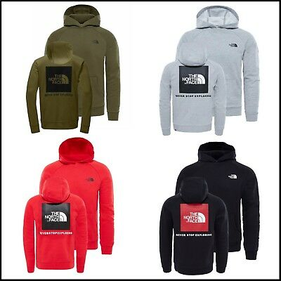 The North Face Kapuzenpullover Sweatshirt Hoodie - Red Box Hoody Pullover    NEU