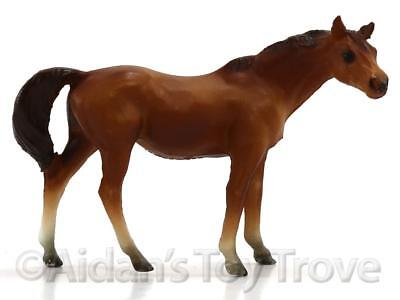 Breyer Stablemates Model Horse - 5026 Chestnut Thoroughbred Mare Old Plastic G1