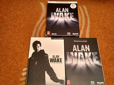 Alan Wake Guide and Limited Art Book | Official Survival Bundle | Guía | Arte