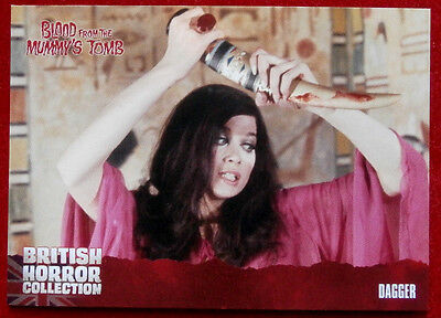 BRITISH HORROR COLLECTION - Blood From The Mummy's Tomb - DAGGER - Card #07