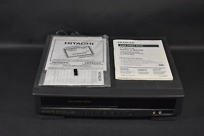 HITACHI VINTAGE VHS video recorder player VT-15a Programmable ... on tv recorder, blu-ray recorder, stereo recorder, digital recorder, xbox recorder, blue ray recorder, vcr recorder, minidisc recorder, cassette recorder, camera recorder, vinyl recorder, betamax recorder, tascam reel to reel recorder, pc recorder, dat recorder, dvr recorder, tape recorder,