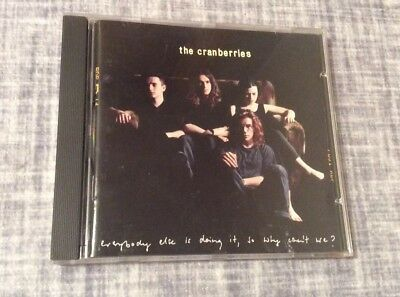 Everybody Else Is Doing It, So Why Can't We? by The Cranberries CD  PRICE CUT !!