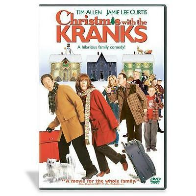 Christmas with the Kranks  (DVD, 2005, Widescreen / Full Screen)  Brand New
