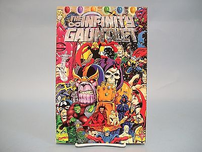 The Infinity Gauntlet Marvel Comics TPB Rare Foil 1st Print 1st Edition Graphic