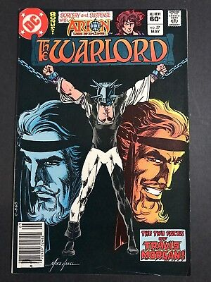 WARLORD #57 Mark Jewelers Insert VARIANT BATMAN WHO LAUGHS PROTOTYPE? FN/VF