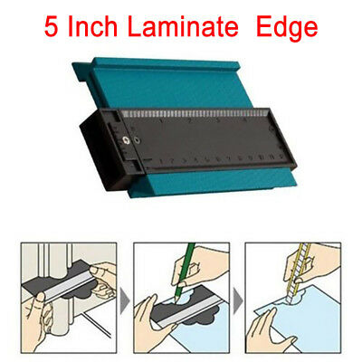 "5"" Contour Profile Gauge Tiling Laminate Ruler Craft Edge Shaping Measuring Tool"