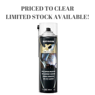 Rustoleum Welding Weld Multipurpose Anti Spatter Spray - 500ml PRICED TO CLEAR