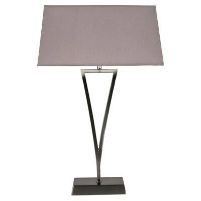 Jessa 46cm Touch Table Lamp Polished
