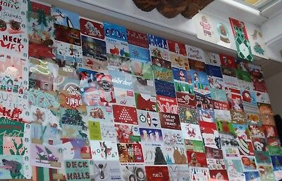 Holiday Christmas Collectible Gift Cards-  LOT of 140 Different Styles NO Value