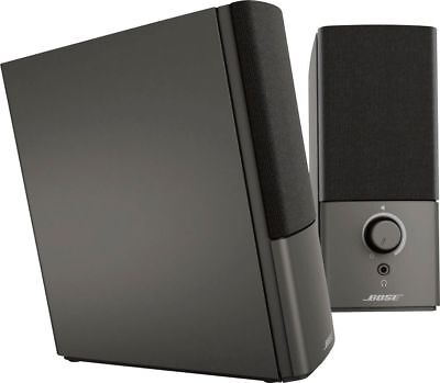 Bose - Companion 2 Series III Multimedia Speaker System (2-Piece) - Black