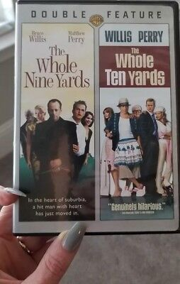 Whole Nine Yards + Whole Ten Yards both  double feature Bruce Willis funny DVD