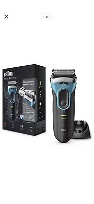 Braun Series 3 ProSkin 3080s Wet and Dry Mens Electric Rechargeable Shaver  Razor 9f5717008576