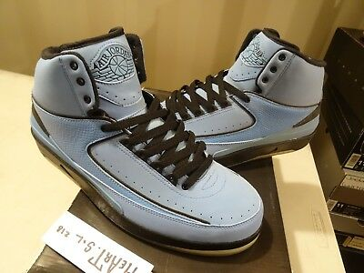 best website b48c4 55a60 2010 Nike Air Jordan 2 II Retro QF University Blue Candy Pack 395709-401 SZ