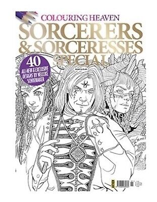 Colouring Heaven: Issue 41: HALLOWEEN Special - 40 Unearthly Designs - NEW