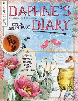 Daphne's Diary Magazine Issue 1 2020 With Extra Dream Book - NEW