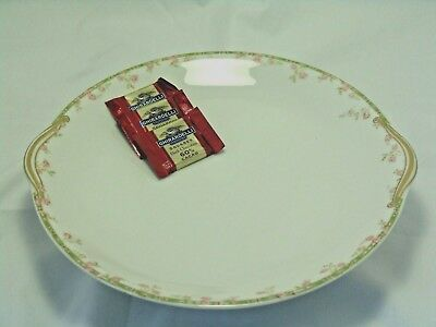 THEODORE HAVILAND LIMOGES FRANCE PORCELAIN SERVING PLATE PLATTER Mark p 1903