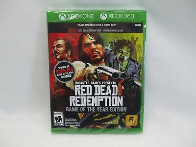 Red Dead Redemption Game of the Year Edition - Xbox One and Xbox 360