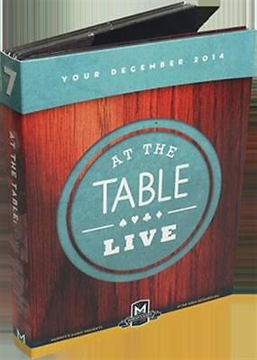At the Table Live Lecture December 2014 (4 DVD set) - DVD - Magic Tricks