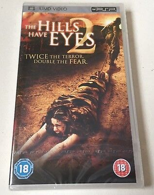 THE HILLS HAVE EYES 2 UMD for Sony PSP Playstation Portable New & Factory Sealed