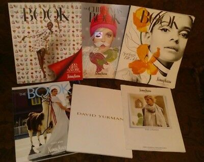 Mix Lot of 6 Neiman Marcus the Book & Catalog