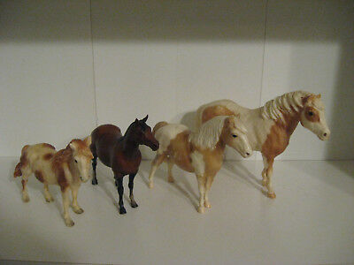 Breyer Classic & Pony body lot for play or customizing, Misty, Mustang, Quarter