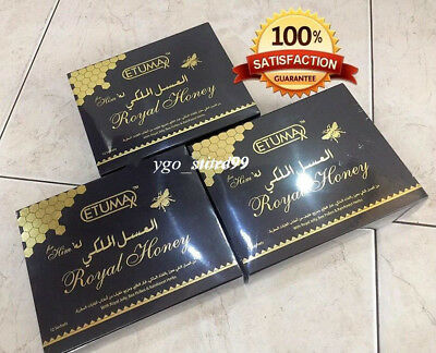 Etumax Royal Honey For Him Male Sexual Wellness 20g  (3 Box) 100% Real Authentic