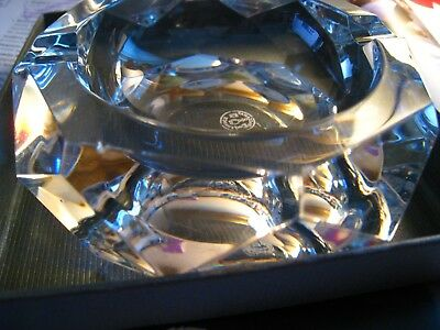 Baccarat Crystal Ashtray ~ France