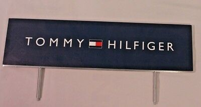 Tommy Hilfiger Advertising Sign Metal