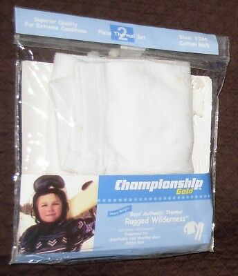 New Off-White Size 12 Months Boys Thermal Underwear Pants Long Johns