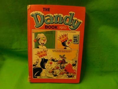 The Dandy Book Vintage Comic Annual 1970 Korky Cat Unclipped